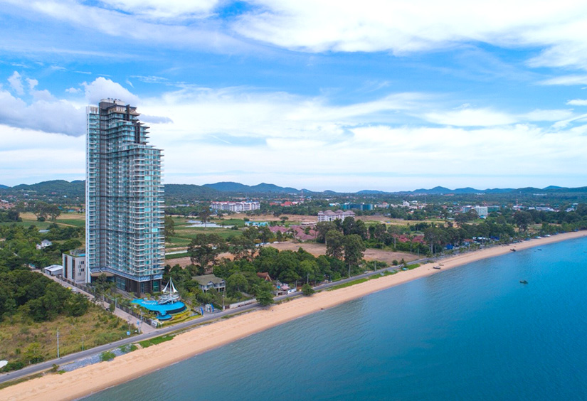del mare condo pattaya bangsaray beach