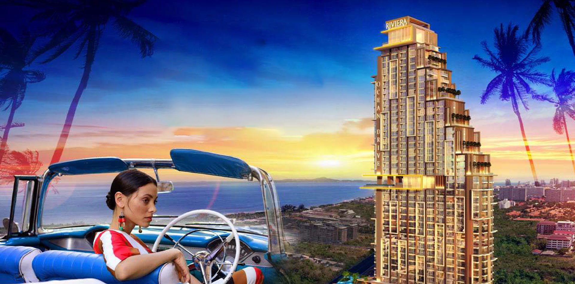 The riviera ocean drive condo pattaya